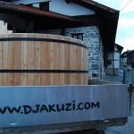 дървено джакузи